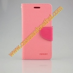 เคส asus zenfone 4 MERCURY FANCY DIARY CASE สีชมพู