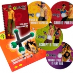 Zumba Fitness Total Body Transformation 4 DVDs