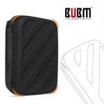 BUBM Waterproof Hard Travel Carrying Game Case Bag Cover สำหรับเครื่อง New3DS XL/LL (ขา่ยดี)