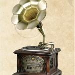 เครื่องเล่นแผ่นเสียง-วิทยุ-CD-MP3-เทปคาสเซ็ท