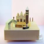 กล่องเพลง Venice ♫ Nocturne ♫ กล่องดนตรี Wooderful Life