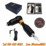 [RAPTOR HAWK] เครื่องสักฮ๊อก เครื่องสักโรตารี่ เครื่องสักมอเตอร์ เครื่องสักลายแทททู เครื่องสักคิ้ว (BLACK Hawk Thunder Makeup Pen / Rotary Tattoo Machine)