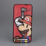 เคส asus zenfone 2 5.0 ze500cl TPU ลาย Mario สีแดง