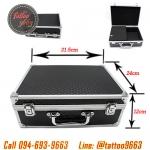 [BLACK] กระเป๋าใส่อุปกรณ์สักลายสีดำ กระเป๋าอุปกรณ์สักลาย กระเป๋าเก็บอุปกรณ์สักลาย Professional Tattoo Kit Case Traveling Convention Carry