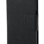 เคส asus zenfone 6 ฝาพับ ฝาปิด mercury fancy diary case สีดำ