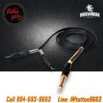 สายเกี่ยวเครื่องสัก สายเกี่ยวคุณภาพสูง อุปกรณ์สักลาย Silicone Wire / Copper Core Tattoo Hook Line / Clip Cord Power Supply (คละสี)