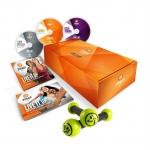 การเต้นออกกำลังกาย - Zumba Fitness Gold Live It Up 3 DVDs Set