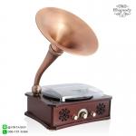 เครื่องเล่นแผ่นเสียงวินเทจ Multifunction 5in1: Rhapsody GH-280 CU Copper Brown