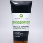 Charcoal Detoxifying Body Mask & Scrub (ผลิตภัณฑ์พอกและขัดผิวการสูตรถ่านขาวดีท๊อกซ์)