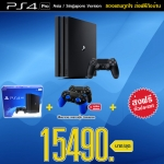 PlayStation 4™ Pro 1TB Black Asia-Singapore Version / CUH-7006B +ส่งฟรี! ราคา 15490.-