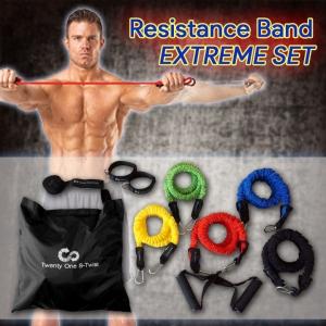 ชุดยางยืดออกกำลังกาย 5 ระดับ (Extreme Set)