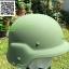 อุปกรณ์ทหาร Kevlar Helmet BALLISTIC HELMET สีเขียว thumbnail 2
