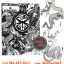 [Horimouja] หนังสือลายสักมังกร หนังสือสักลาย รูปลายสักสวยๆ รูปรอยสักสวยๆ สักลายสวยๆ ภาพสักสวยๆ แบบลายสักเท่ๆ แบบรอยสักเท่ๆ ลายสักกราฟฟิก Capricorn Tattoo Manuscripts Flash Art Design Outline Sketch Book (A4 SIZE) thumbnail 1