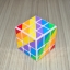 YJ Unequal 3x3 Rainbow Cube thumbnail 18