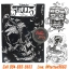 [Horimouja] หนังสือลายสัก Old School หนังสือสักลายหัวกระโหลก รูปลายสักสวยๆ รูปรอยสักสวยๆ สักลายสวยๆ ภาพสักสวยๆ แบบลายสักเท่ๆ แบบรอยสักเท่ๆ ลายสักกราฟฟิก Cranium Tattoo Manuscripts Flash Art Design Outline Sketch Book (A4 SIZE) thumbnail 1