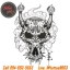[Horimouja] หนังสือลายสัก Old School หนังสือสักลายหัวกระโหลก รูปลายสักสวยๆ รูปรอยสักสวยๆ สักลายสวยๆ ภาพสักสวยๆ แบบลายสักเท่ๆ แบบรอยสักเท่ๆ ลายสักกราฟฟิก Cranium Tattoo Manuscripts Flash Art Design Outline Sketch Book (A4 SIZE) thumbnail 5