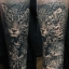 [NOCTURNAL] หมึกสักน็อคเทอร์นอล หมึกสักลายซุปเปอร์แบล็ค สีสักลายสีดำสนิทซุปเปอร์แบล็ก ขวดแบ่งขายขนาด 1/2 ออนซ์ สีสักนำเข้าจากประเทศอเมริกา American Jack Rudy & Franco Vescovi's Nocturnal Tattoo Ink Super Black (15ML/15CC) thumbnail 4