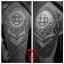 [KURO SUMI] หมึกสักคูโรซูมิ หมึกสักลายคูโรซูมิ สีสักลายสีดำลงเงา ระดับเข้ม ขวดแบ่งขายขนาด 1 ออนซ์ สีสักนำเข้าจากประเทศญี่ปุ่น Kuro Sumi ZHANG PO SINNER GREYWASH DARK Black Tattoo Shading Ink (1OZ/30ML) thumbnail 7