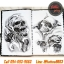 [SKULL #1] หนังสือลายสักหัวกะโหลก หนังสือสักลาย รูปลายสักสวยๆ รูปรอยสักสวยๆ สักลายสวยๆ ภาพสักสวยๆ แบบลายสักเท่ๆ แบบรอยสักเท่ๆ ลายสักกราฟฟิก Skull Tattoo Manuscripts Flash Art Design Outline Sketch Book (A4 SIZE) thumbnail 2