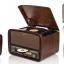 TR-280 CU เครื่องเล่นแผ่นเสียง+ วิทยุโบราณ + CD+ USB-MP3 + AUX Input + HI-FI สำเนา thumbnail 10