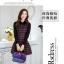 ชุดเดรสทำงานเกาหลี ลาบตาราง(ลายสก๊อต) แขนยาว ผ้าสักหลาด เนื้อผ้าดี ( S M L XL XXL ) thumbnail 3