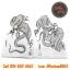 [Horimouja] หนังสือลายสักมังกร หนังสือสักลาย รูปลายสักสวยๆ รูปรอยสักสวยๆ สักลายสวยๆ ภาพสักสวยๆ แบบลายสักเท่ๆ แบบรอยสักเท่ๆ ลายสักกราฟฟิก Capricorn Tattoo Manuscripts Flash Art Design Outline Sketch Book (A4 SIZE) thumbnail 2
