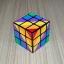 YJ Unequal 3x3 Rainbow Cube thumbnail 5