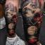 [WORLD FAMOUS] หมึกสักเวิล์ดเฟมัส หมึกสักลายเวิล์ดเฟมัส สีสักลายสีฟ้า ขนาด 1 ออนซ์ สีสักนำเข้าจากประเทศอเมริกา World Famous Tattoo Ink - Algarve Aqua (1OZ/30ML) thumbnail 7