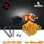 ชุดเครื่องมือหกเหลี่ยมพร้อมสกรู จุกยางก้านเข็ม โอริงยางรองใบตี หนังยางรัดเครื่อง 3 Allen Wrenchs for Tattoo Grips with 2 Screws + Needle Grommets/Nipples + O-ring's + Rubber Bands Combination Work Set thumbnail 1