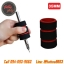[35MM] ปลอกหุ้มกระบอกด้ามจับ ปลอกฟองน้ำหุ้มกระบอกเข็มสัก ปลอกกระบอกมือจับ Black&Red Sponge Tattoo Grip Holder thumbnail 1