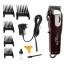 [KEMEI] ปัตตาเลี่ยนไร้สายสีแดง แบตตาเลี่ยนตัดผม แบตเตอร์เลี่ยนคนไร้สาย แบตตาเลี่ยนตัดผมชาย อุปกรณ์ตัดผม RED Professional Electric Hair Clipper For Men & Women thumbnail 1