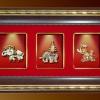ของพรีเมี่ยม กรอบชุดช้าง 3 กษัตริย์ประดับไฟ (ขนาด : 7.5 x 13 นิ้ว )