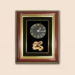 ของพรีเมี่ยม กรอบนาฬิกาลายมังกรทอง (ขนาด : 7 x 9 นิ้ว )