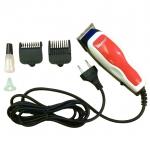 [KEMEI] ปัตตาเลี่ยนไฟฟ้าสีแดง แบตตาเลี่ยนตัดผมแบบมีสาย แบตเตอร์เลี่ยนมีสาย แบตตาเลี่ยนตัดผมชาย อุปกรณ์ตัดผม RED Professional Electric Hair Clipper For Men & Women
