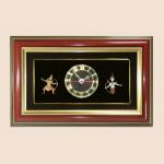 ของพรีเมี่ยม กรอบคู่นาฬิกา Set รามเกียรติ์ (ขนาด : 7 x 11 นิ้ว )