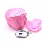 [Thermo Cap TV] หมวกอบไอน้ำด้วยตัวเองสีชมพู หมวกอบไอน้ำไฟฟ้า เทอร์โมแคปแฮร์สปา ทําสปาผม ทรีทเม้นท์ผม สูตรผมสวย ดีท็อกซ์ผม บำรุงผม ฟื้นฟูผมเสีย Pink Hair Thermal Steamer Treatment SPA Cap