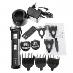 [KEMEI] ปัตตาเลี่ยนไร้สาย 3in1 ปัตตาเลี่ยนแกะลายชุดใหญ่ แบตเตอเลี่ยนเด็ก แบตตาเลี่ยนตัดผม แบตเตอร์เลี่ยนโกนหนวด Rechargeable 3-in-1 Professional Trimmer Universal Electric Hair Clipper For Men & Women