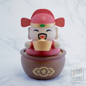 กล่องเพลง เทพเจ้าแห่งโชคลาภ ♫ GongXi GongXi ♫ กล่องดนตรี Wooderful Life