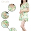 ชุดเดรสสั้นแฟชั่นเกาหลี มินิเดรสกระโปรง สีเขียวพิมพ์ลายน่ารักๆ เหมาะสำหรับใส่เที่ยววันสบายๆ เดินห้างช้อปปิ้ง ดูหนัง แบบสวยๆน่ารักๆ สไตล์สาวหวาน thumbnail 5