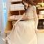 ชุดเดรสยาวสวยๆ สีครีมเบจ เสื้อผ้าลูกไม้อย่างดีเย็บต่อด้วยกระโปรงผ้าชีฟอง ใส่ไปงานแต่งงาน ออกงานเลี้ยง ให้ลุคสวยหรู ดูดี ( S M L XL ) thumbnail 11