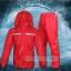 เสื้อกันฝน High grade แถบสะท้อนแสง 3M (เสื้อ+กางเกง) รหัส 01-QF thumbnail 4