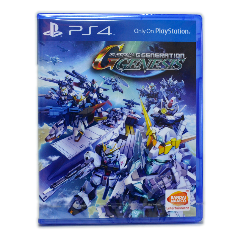 PS4™ SD Gundam G Generation Genesis Zone 3 Asia / Voice JP., Sub En. ++ ส่งฟรี