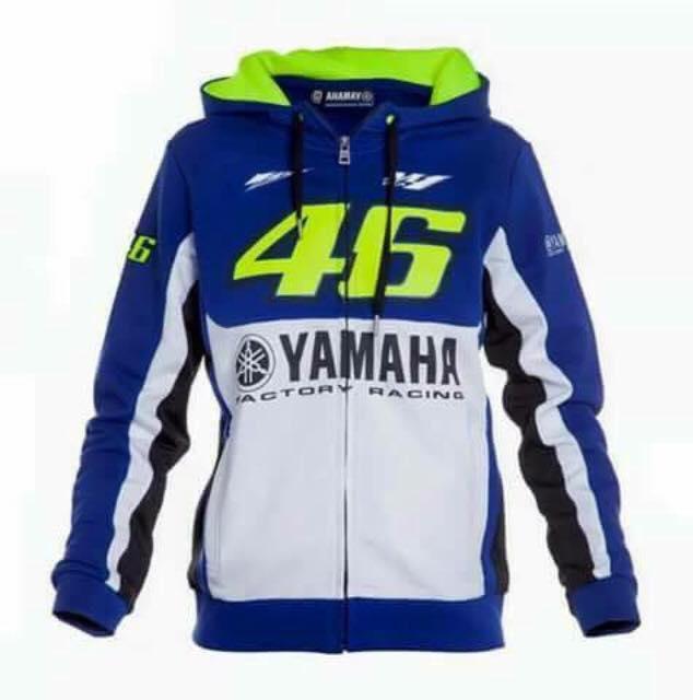 เสื้อแจ็คเก็ต เสื้อฮูดยามาฮ่า 46 yamaha46