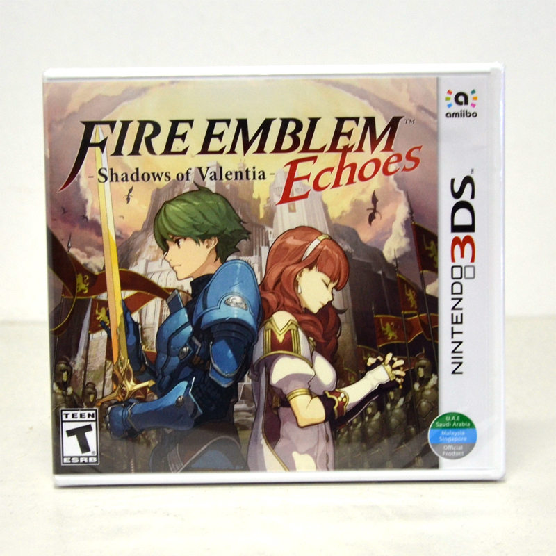 3DS (US) Fire Emblem Echoes: Shadows of Valentia English Version 1ราคา @ 1490.-