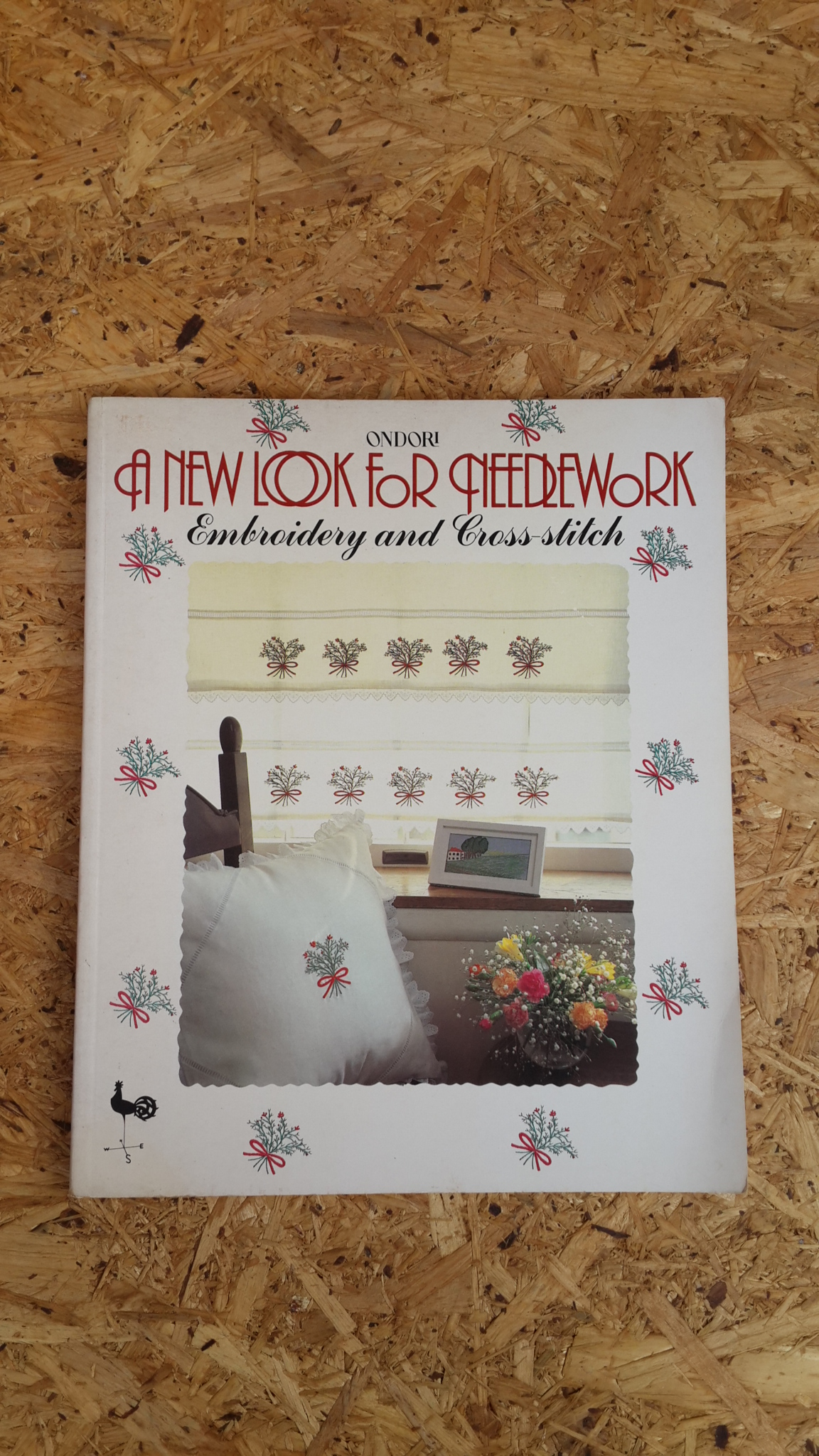 A NEW LOOK FOR NEEDLEWORK : EMBROIDERY AND CROSS-STITCH