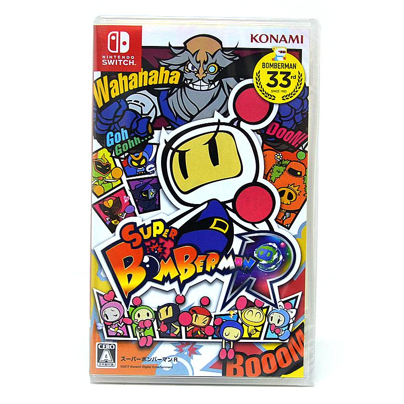 Nintendo Switch™ Super Bomberman R ปก JP เปลี่ยนภาษาได้*