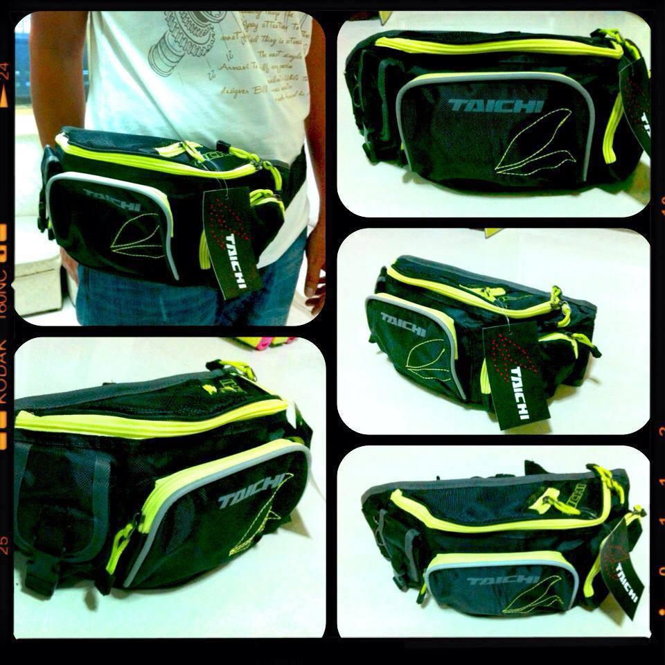 กระเป๋าคาดเอว ไทชิ สีเขียว
