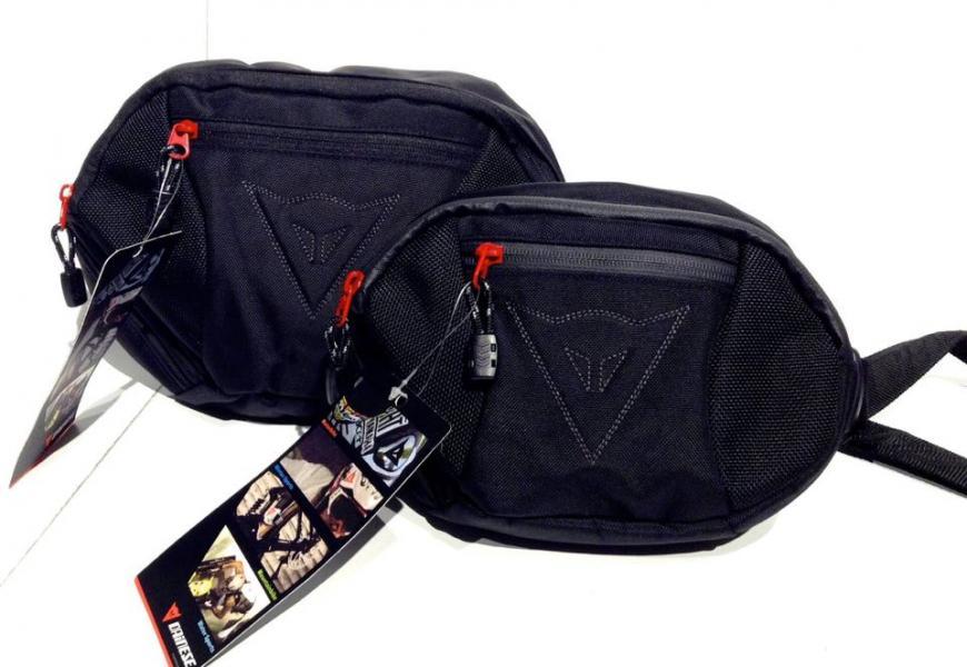 กระเป๋าคาดเอวขี่มอเตอร์ไซค์ ยี่ห้อ ไดเนส ใบเล็ก 8 นิ้ว