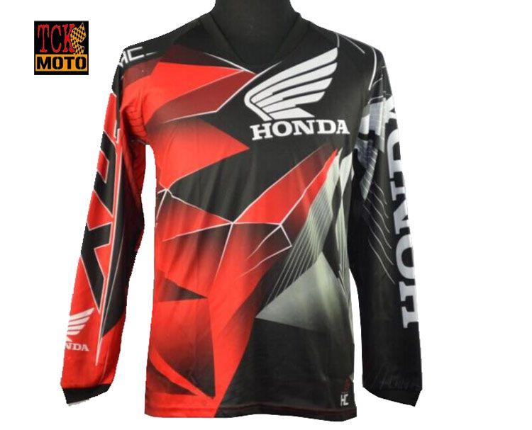 เสื้อแขนยาวขี่มอเตอร์ไซค์ วิบาก Honda 2018