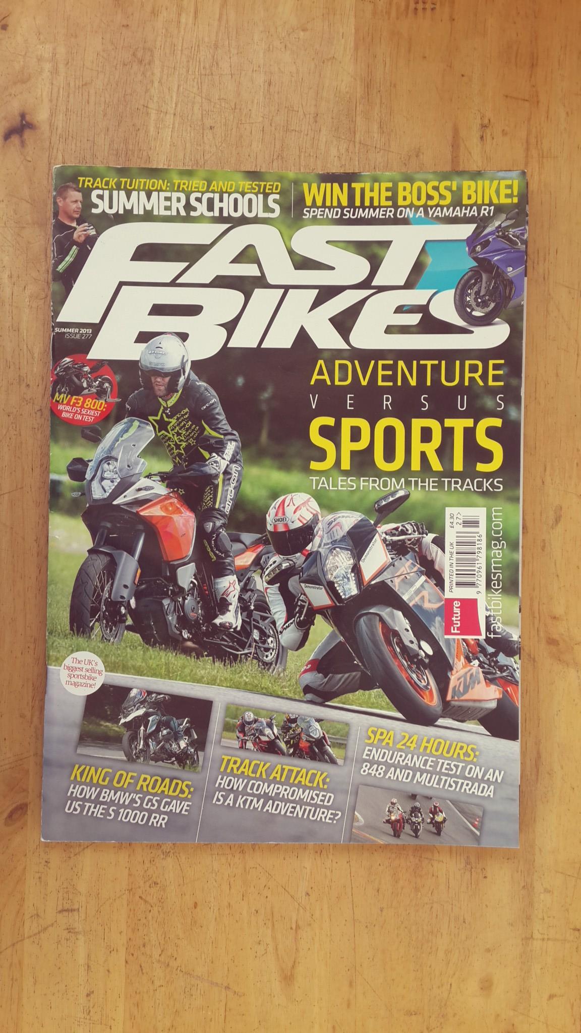 FAST BIKES : ISSUE 277 SUMMER 2013
